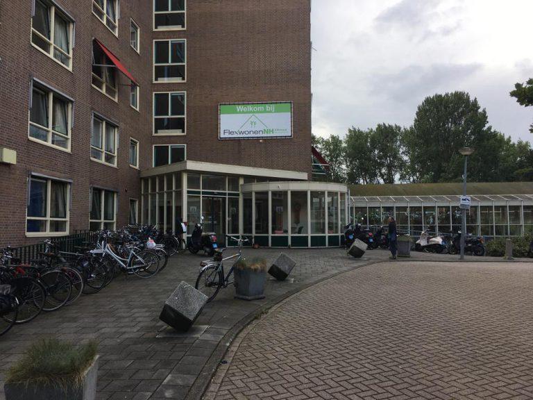 Vooraanzicht locatie Kooimeer Alkmaar